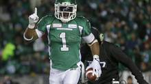 On Thursday, the league unveiled which players are slated to become free agents at noon (ET) on Feb. 15. Among them are Grey Cup MVP Kory Sheets of the Saskatchewan Roughriders. (TODD KOROL/REUTERS)