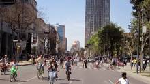 Mexico City's Open Streets festival sets an example for Toronto's, which begins this weekend.