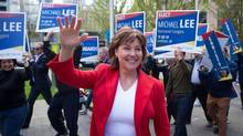 B.C. Liberal Leader Christy Clark has an interest in adopting a new Value Added Tax (VAT). (Darryl Dyck/THE CANADIAN PRESS)