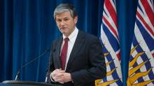B.C. Advanced Education Minister Andrew Wilkinson is shown in this January 2016 file photo. (DARRYL DYCK For The Globe and Mail)