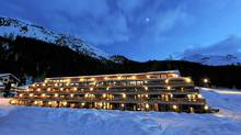 Ski-in and ski-out at Nira Alpina, five kilometres from St. Moritz.