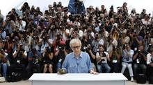 Woody Allen meets the press in Cannes. (Reuters/Reuters)