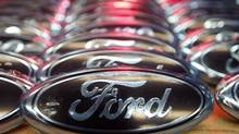 Ford posted a stronger-than-expected fourth-quarter profit as higher earnings in the No. 2 U.S. auto maker's core North American market offset losses in Europe and South America. (Vince Kessler/Reuters)