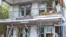 The Flower House in Detroit. (Rebecca Wood)