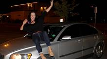 Melissa Tancredi likes her Volvo's sleek exterior.