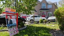 The runaway prices that GTA real estate saw earlier this year raised pricing expectations for sellers, to the point that owners who signed a firm deal for another property delayed putting their existing home on the market in the hope of getting an even higher price later in the spring. (Mark Sommerfeld/Bloomberg)