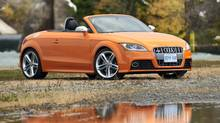 The Audi TTS comes in three engine lines, but the base model still delivers the goods at just under $50,000. (Arne Glassbourg/Copyright © 2008 Arne Glassbourg)