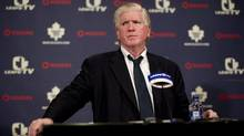 A source said Brian Burke could not explain why the Leafs kept losing and his rebuilding had left key problems unsolved. (Chris Young/THE CANADIAN PRESS)