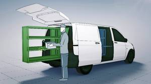Mercedes-Benz Vans adVANce: solutions@vans, Cargo Space Engineering