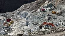 The Harper government could care less. It vigorously defends mining asbestos because of one little corner of Quebec, near Thetford Mines, where the asbestos is mined and shipped to developing countries, mostly in Asia (Francis Vachon/Francis Vachon/The Canadian Press)