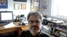 Rick Newton is an out of work IT specialist who has gone back to school to get his IT certificate updated. He doesn't count in the newest EI statistics because his claims ran out, plus he doesn't count on the labour force survey as unemployed because he's stopped looking for work. (Sheryl Nadler)
