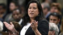 Minister of Justice Jody Wilson-Raybould answers a question in the House of Commons on Parliament Hill on Monday. (Justin Tang/The Canadian Press)