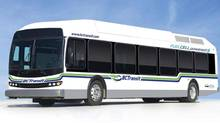 Ballard Power Systems manufactured the Whistler hydrogen fuel-cell buses. (Hand-Out/BALLARD POWER SYSTEMS INC.)