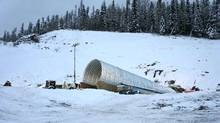 Decline portal construction at the Murray River Project in Tumbler Ridge, B.C. (HD Mining)