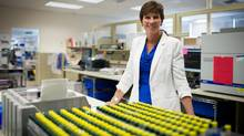 Sue Paish m before moving to LifeLabs. Medical Laboratory Services, at the company's B.C. headquarters in Burnaby, B.C., on Tuesday July 23, 2013. DARRYL DYCK FOR THE GLOBE AND MAIL (DARRYL DYCK For The Globe and Mail)