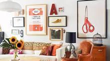 Alanna Cavanagh's living room. (Jodi Pudge)