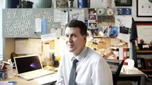 Dr. Stephen Scherer, is the senior scientist leading the PersonalGenomeProject in Canada. He is photographed in Toronto Nov 29, 2012. (Moe Doiron/The Globe and Mail)