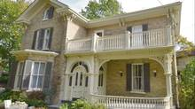 Nicole and Kevin Lefebvre bought a home in Stratford, Ont., that was built in 1877. (Build/Lefebvre)
