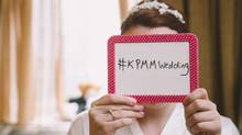 Kristin MacKenzie of Halifax used #KPMMWedding to get her friends and family posting their photos and thoughts on Instagram and Twitter. (Chelle Wootten Photography)