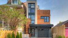 Home on Ilford Ave. built by recent Ryerson Architecture grads Lilli Vu and Allan Campbell. (James J. Burry)