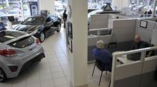 AutoCanada's Hyundai dealership in Mississauga. The company has announced four dealership purchases this year. (J.P. MOCZULSKI/J.P. MOCZULSKI)