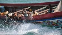 A group of African refugees undertake a dangerous sea voyage in search of a better life in Europe, in La Pirogue, a wrenching and suspenseful drama.