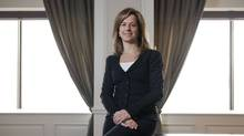 Martha Fell, CEO of Toronto-based Women in Capital Markets. (Matthew Sherwood For The Globe and Mail/Matthew Sherwood For The Globe and Mail)