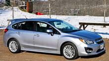 2012 Subaru Impreza (Michael Bettencourt for the Globe and Mail)