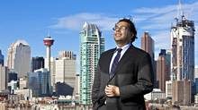 Calgary Mayor Naheed Nenshi: 'That's what infrastructure really means: all of the things that make it easier for people to live and do business.' (Chris Bolin For The Globe and Mail)
