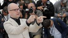 At Cannes, Steven Soderbergh praises the golden age of television. (Lionel Cironneau/AP)