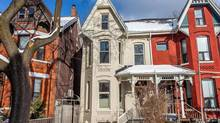 Scarce listings have created fierce bidding wars: This house on Ross Street in the Annex sold for $1.31-million – 58 per cent above the asking price.