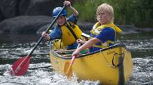 Carolyn Pullen sent us this photo of Ben and Jack, both 11, as they practice first tandem eddy turns on a perfect summer day on the Lower Madawaska River. (Carolyn Pullen/Carolyn Pullen)