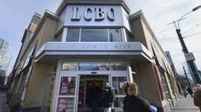 The government first announced the LCBO Express concept on Dec. 31, 2012. (Fred Lum/The Globe and Mail)