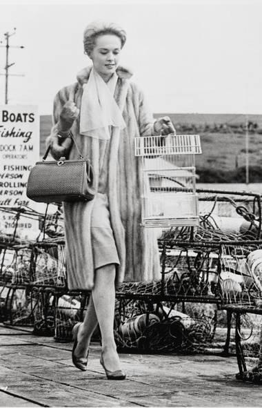 Tippi Hedren in The Birds (1963). (UNIVERSAL PICTURES / Album/Newsc)