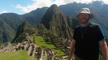 Garth Gutenberg, a Peru-based software engineer for Hamilton, Ont.-based Weever apps, tours Machu Picchu. (Weever Apps)