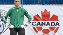 Canadian men's soccer team goalkeeper Pat Onstad as seen in this 2008 photo (Paul Chiasson/Canadian Press)