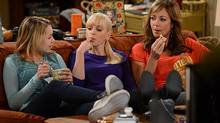 Sadie Calvano, left, Anna Faris and Allison Janney, right, in the sitcom Mom. (Darren Michaels)