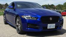 The 2017 Jaguar XE is now available in Canada. (Jordan Chittley/The Globe and Mail)