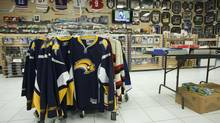 Sports memorabilia is seen in this file photo. (Tim Fraser For The Globe and Mail)