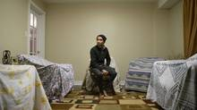 Sarmad Chowdhry is pictured in the Scarborough home of his aunt and uncle, who he stays with, on Monday February 9 2015. Chowdhry, from Bangladesh, is one of the international students who have been working in Canada and have been caught in changes to the immigration system that came into effect on January 1 and that could lead most of them to be ineligible for permanent residence in the country (Chris Young For The Globe and Mail)