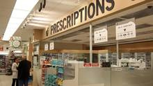 A pharmacy in Longueuil, Que. Quebec's proposed changes would allow the health minister to issue a call for tenders from accredited drug manufacturers or wholesalers. (Christinne Muschi For The Globe and Mail)