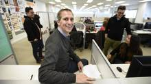 Michael Beckerman's Ariad Communications put up $25,000 that was evenly divided among 10 employee groups' pet projects. (Fred Lum/The Globe and Mail)