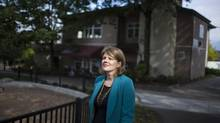 Kris Roberts, a real estate agent in Vancouver who runs the GIVE Group, would like to see the rules change in Canada's provinces. (Rafal Gerszak For The Globe and Mail)
