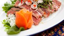 Beef Salad from Pai Northern Thai Kitchen in Toronto (Lindsay Lauckner for The Globe and Mail)