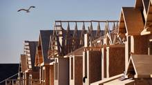 New home construction in Richmond Hill, Ont., is seen in this file photo. (Moe Doiron/The Globe and Mail)