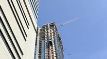 The beginning of 2014 saw developers offering incentives, including reduced deposits and waived assignment fees, while others offered up to $30,000 cash back on a sale. (Fred Lum/The Globe and Mail)