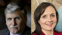 Roméo Dallaire and Shelly Whitman (ChildSoldiers.org)
