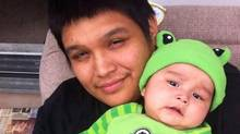Father of three Errol Greene and his son Darien is seen in this undated handout photo. The deaths this year of five people in custody at the Winnipeg Remand Centre is a big red flag and should be investigated in a wide-ranging inquest, says a prisoners rights group. (Rochelle Pranteau/The Canadian Press/HO)
