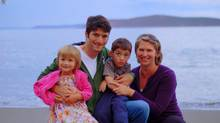 Blaine and Sarah Penny with their children Julia and Evan. The couple founded MitoCanada after Evan was diagnosed with mitochondrial disease, which has left him a quadriplegic and unable to talk. (Rachel Penny)