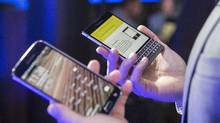 BlackBerry Ltd. says it has been awarded $815- million in a binding interim arbitration decision in a dispute with Qualcomm. (Chris Young/THE CANADIAN PRESS)